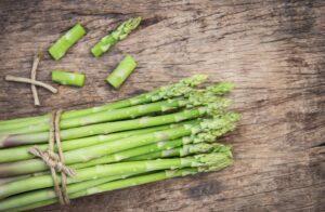 British asparagus season