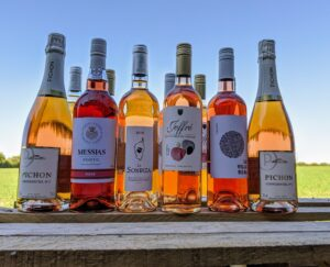 Peter Watts Wines Pretty in Pink case